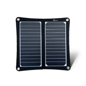 Mobisun lightweight 15W portable USB solar panel front
