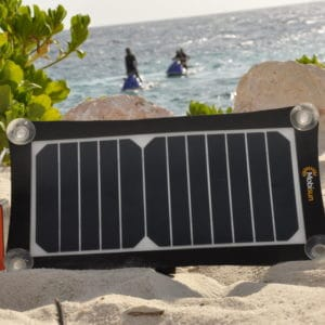 Mobisun portable solar panel USB lightweight
