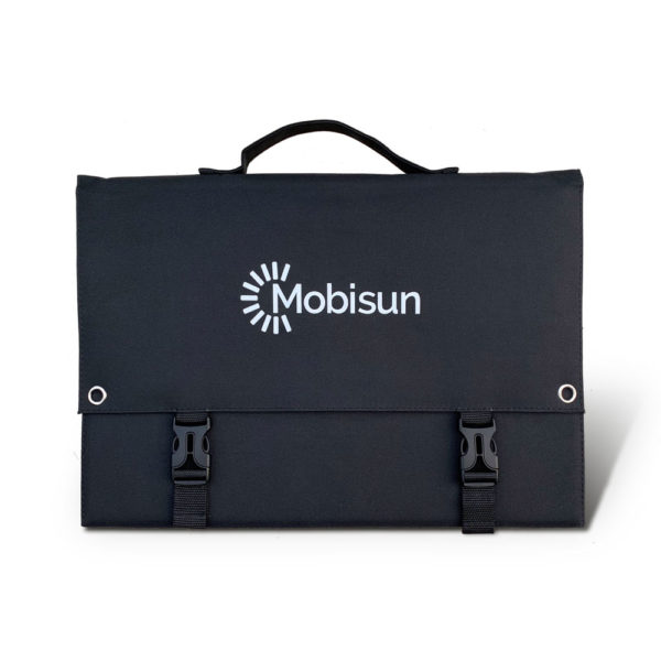 0W Mobisun portable solar panel back (2)